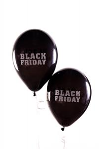 Latexballonger - Black Friday 10-pack