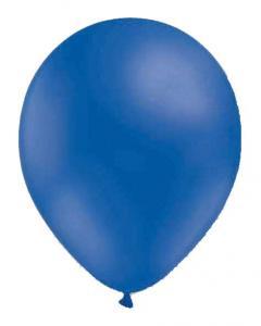 Blå latexballonger