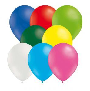 Latexballonger blandade färger