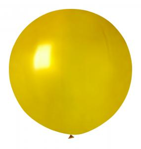 Guldfärgad jätteballong