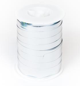 Ballongsnöre - Metallic Silver 250 m * 10 mm