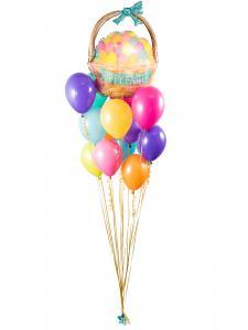 Ballongbukett - Glad Påsk!