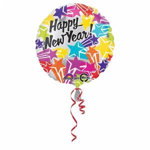 Nyårsballong Bright Stars