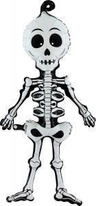 Folieballong - Linky Scary Skeleton 74 cm