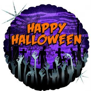 Folieballong - Zombie Halloween 45 cm
