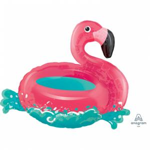 Folieballong - Floating Flamingo