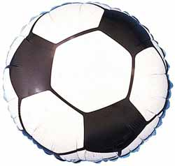 Fotbollsballong