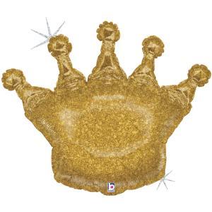 Folieballong - Glittering Crown