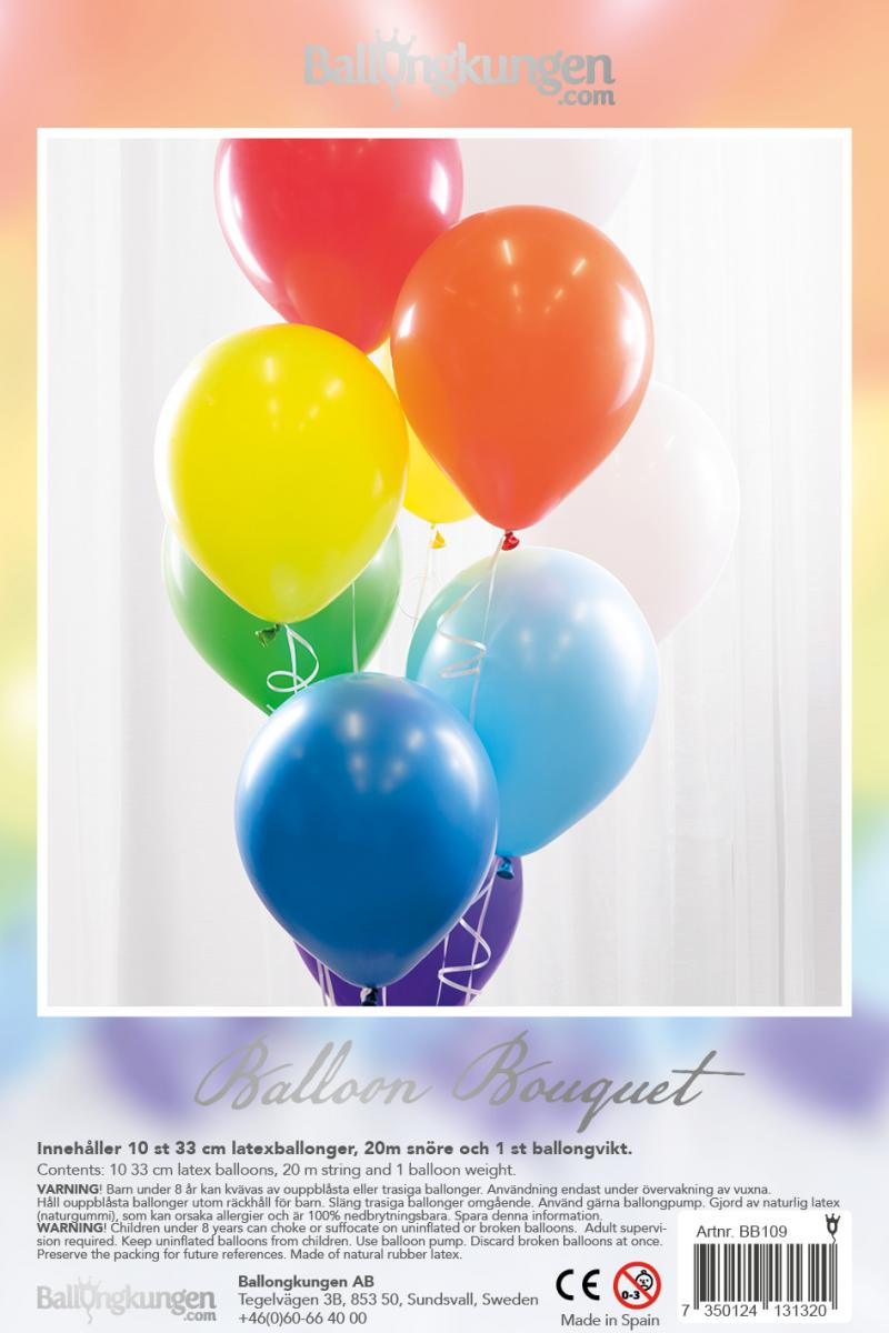 Balloon Bouquet - Rainbow