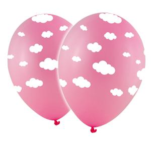 Latexballonger - Rosa Moln 10-pack