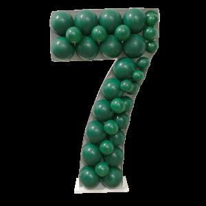 Ballongform - Nummer 7 - 120 cm