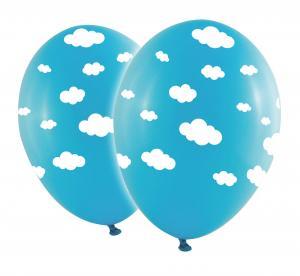 Latexballonger - Baby Blå Moln 10-pack