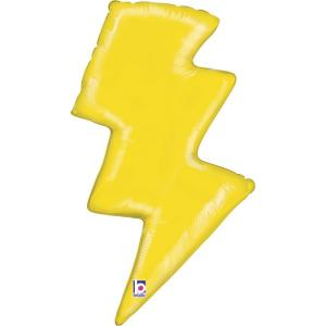 Folieballong - Lightning Bolt 91 cm