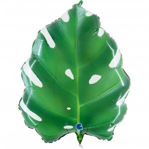 Folieballong - Tropical Leaf