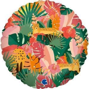 Folieballong - Tropical Jungle 45 cm