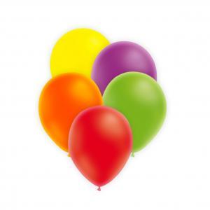 Neonfärgade ballonger