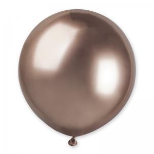 Latexballonger - Shiny/Chrome Rose Gold 48 cm Styckevis