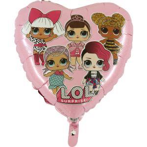 Folieballong - LOL Surprise Pink 45 cm