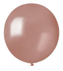 Latexballonger - Rose Gold Runda 48 cm 10-pack