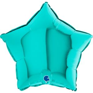 Folieballong - Stjärna Tiffany 45 cm