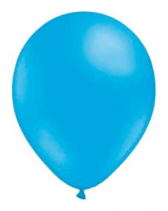 Ljusblå ballonger