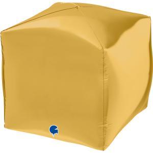 Folieballong - Square Guld 38 cm
