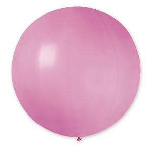 Latexballong - Rosa Rund 80 cm