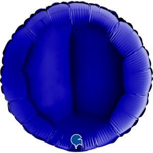 Mörkblå folieballong