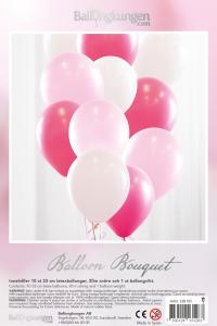 Balloon Bouquet - Baby Pink