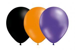 Latexballonger Kombo - Halloween-Mix 15-pack