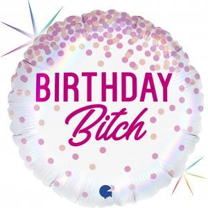 Folieballong - Birthday Bitch
