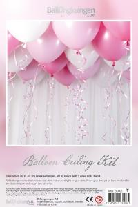 Balloon Ceiling Kit - Baby Pink
