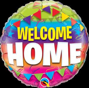 Folieballong - Welcome Home 45 cm