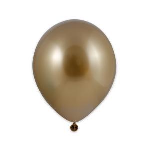 Latexballonger - Guld 13 cm 100-pack