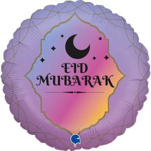 Folieballong - Eid-Mubarak 45 cm