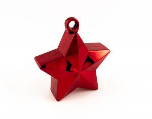 Ballongtyngd - Stjärna Röd 170g
