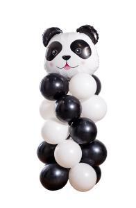 Ballongpelare - Panda Head