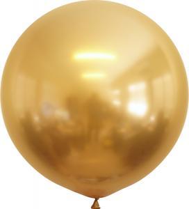 Latexballonger - Gold Chrome 60 cm 10-pack