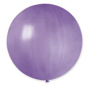Latexballong - Lila Rund 80 cm