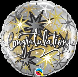 Folieballong - Congratulations 45 cm