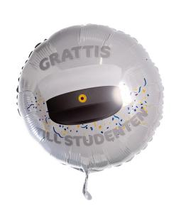 Folieballong - Grattis Till Studenten 53 cm