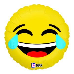 Folieballong - Emoji LOL 45 cm