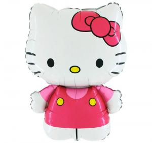 Folieballong - Hello Kitty Pink Shape