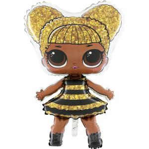Folieballong - LOL-Surprise Queen Bee Shape