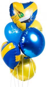 Ballongbukett - Grattis till Studenten! Premium