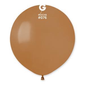 Latexballonger - Mocca Runda 48 cm 50-pack