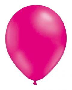 Magenta-färgad ballong