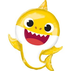Folieballong - Baby Shark SuperShape