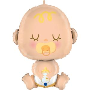 Foileballong - Welcome Baby Shape 78 cm