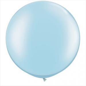 Jätteballong - Ljusblå 90 cm
